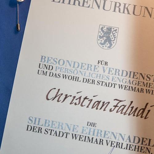 Ehrennadel der Stadt Weimar